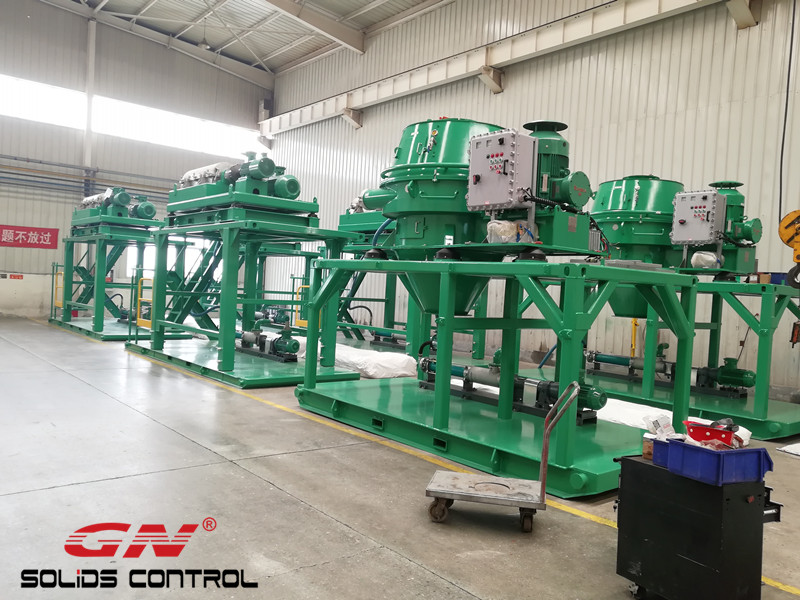 2018.04.20 telescopic skid mounted cuttings dryer