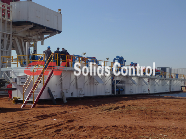 gn 1500hp oil  gas drilling circulation system