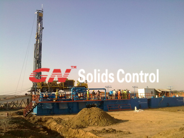 gn 750hp drilling fluid circulation system